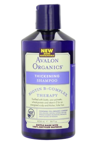 直邮新低!Avalon Organics 阿瓦隆有机维他命B群防脱洗发水