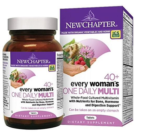 近期好价!New Chapter 新章女士40岁以上有机每日营养片