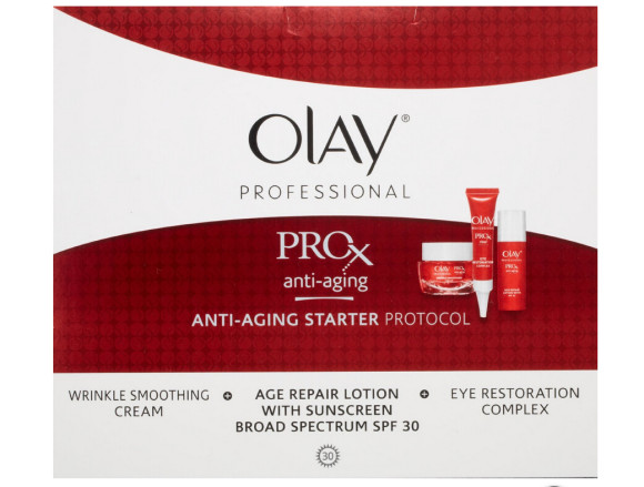 比秒杀还低!Olay Pro-x 玉兰油纯焕方程式防晒乳、抗皱霜、眼霜三件套