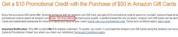 紧急通知!5月份礼品卡买$50送$10抽奖活动来了!