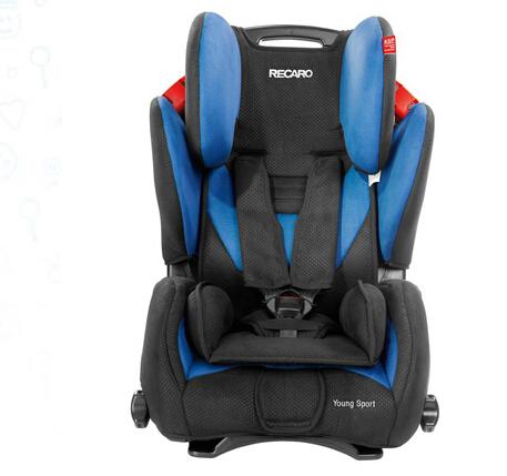Kidsroom安全座椅直邮!RECARO 大黄蜂儿童汽车安全座椅蓝色款