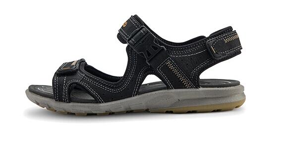 当季好价了!ECCO 爱步2015夏款巡航系列男士真皮凉鞋
