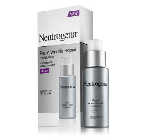 直邮新低价!Neutrogena 露得清极速抗皱系列保湿晚霜29ml