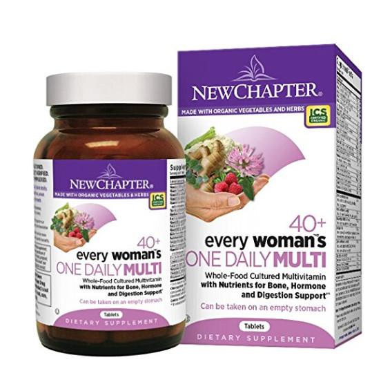母亲节礼物!New Chapter 新章每日一片40岁以上女性综合营养片