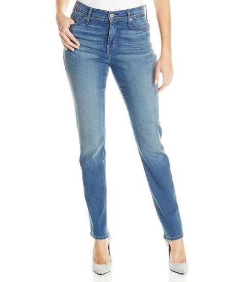 三色新低价!Levi's 李维斯女士修身直筒牛仔裤