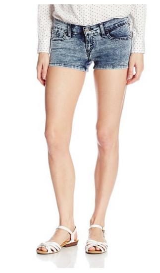近期好价!Levi's 李维斯女士牛仔短裤
