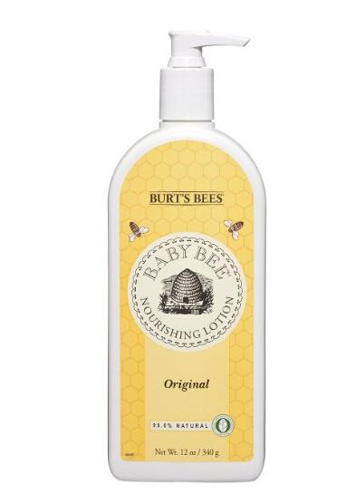 海淘小蜜蜂推荐:Burt's Bees 美国小蜜蜂宝宝润体乳 340g