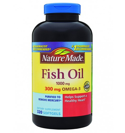 近期好价!!Nature Made Omega-3 莱萃美深海鱼油1000mg*320粒