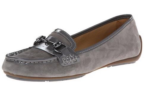 三色新低可直邮!SEBAGO 仕品高女士真皮船鞋