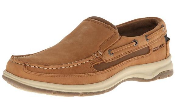 近期新低价!SEBAGO 仕品高男士真皮休闲鞋
