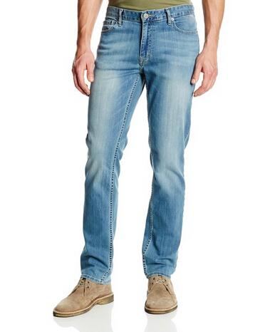 美亚直邮新低!Calvin Klein 男士修身直筒牛仔裤