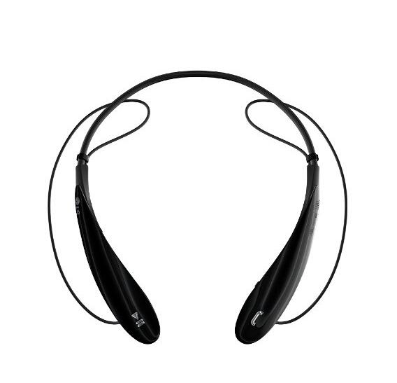 黑色直邮最低!LG HBS-800 主动降噪立体声蓝牙耳机