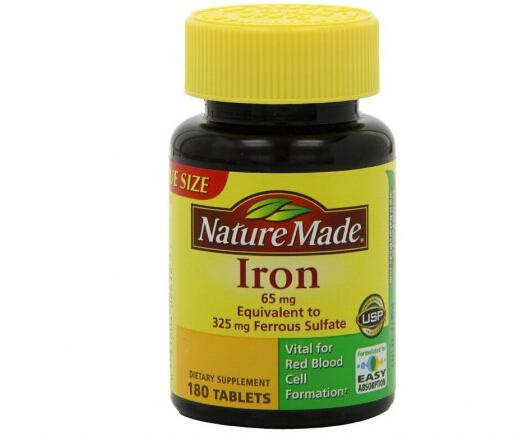 凑单才1刀!!Nature Made Iron 65mg 莱萃美铁补充片
