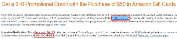 紧急通知!6月份礼品卡买$50送$10抽奖活动来了!