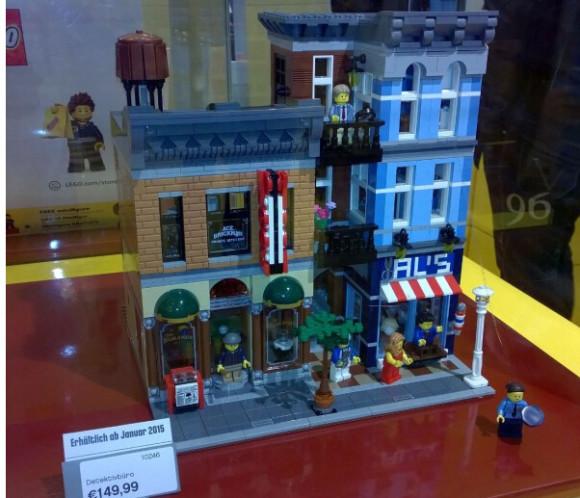 补货新低!LEGO 10246 Creator Expert 乐高侦探社