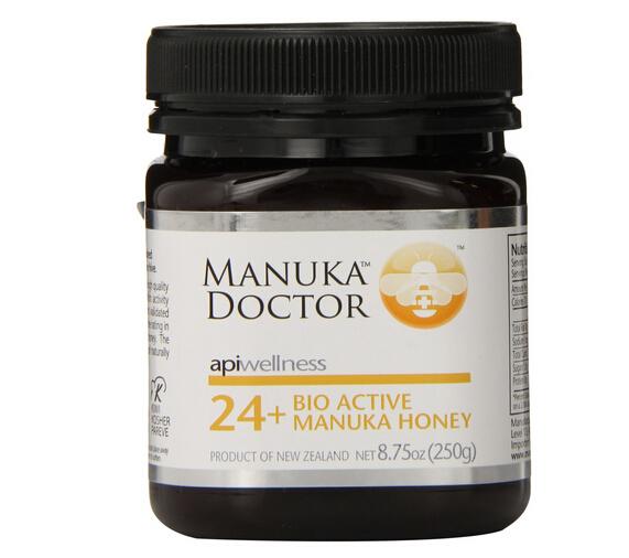独麦素都24+了,Manuka Doctor 24 Plus 新西兰麦芦卡蜂蜜250g