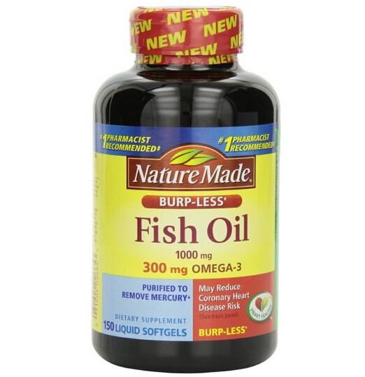 补货了!Nature Made Omega-3 莱萃美深海鱼油1000mg*150粒