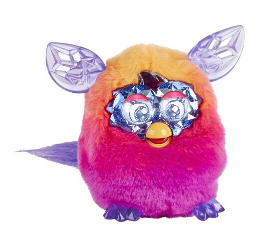 金盒特价!Furby 2014款水晶系列菲比精灵 智能互动宠物