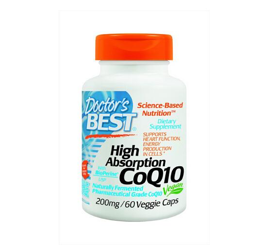 近期新低!Doctor's Best CoQ10 辅酶心脏保健品200mg*60粒