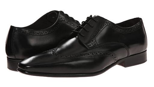 6PM手快有!a.testoni 铁狮东尼意大利产正装烤花皮鞋