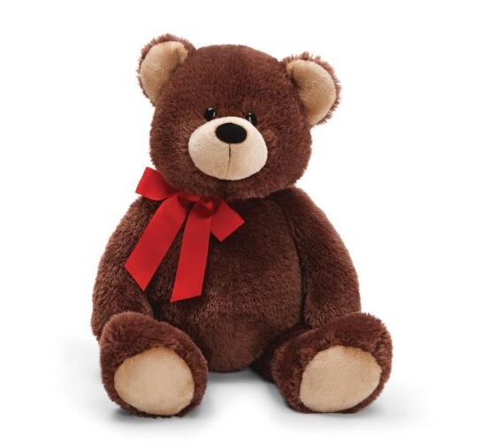直邮最低价!Gund 超大号25寸63厘米红领结泰迪熊