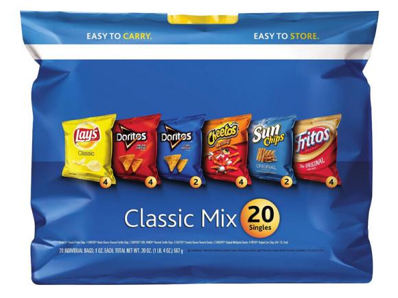 吃货可入!Frito-Lay 菲多利休闲食品组合混装包