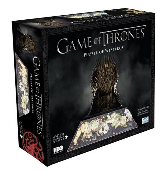 补货可直邮!Game of Thrones Westeros Puzzle 权力的游戏立体多层拼图