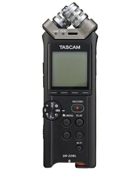 历史新低价,TASCAM DR-22WL 中端线性录音笔 Wi-Fi远程控制