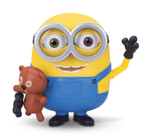 萌死了,再来一款!Minions Bob 卑鄙的我,抱着泰迪熊的小黄人
