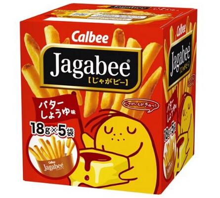 吃货们补货了!日本薯条三兄弟CALBEE JAGABEE 卡乐比薯条