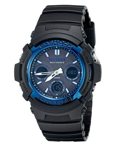 美亚PrimeDay下单7折!Casio AWGM100-1ACR  卡西欧G-Shock6局电波表