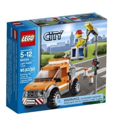 白菜价!LEGO 乐高城市系列 60054 路灯维修工程车
