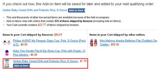 再说一次美国亚马逊的Add-on Item是什么意思