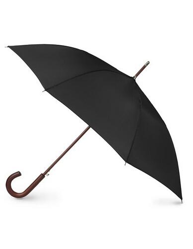 叠加7折公码刷新低!Totes 木制手柄复古雨伞