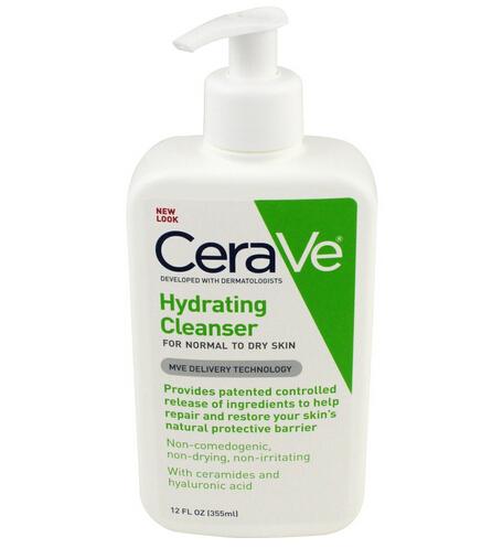 绿瓶再刷新低可凑单!CeraVe 低泡温和保湿洁面乳355ml