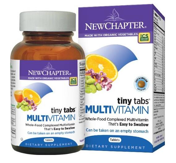 买一瓶一家人吃!New Chapter 新章有机复合营养片192粒
