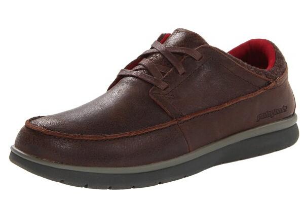 适合脚宽的人士,patagonia Maui Lace Moccasin 巴塔哥尼亚男士休闲皮鞋