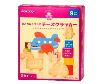 和光堂买什么推荐?日本和光堂磨牙饼干(25g×2袋)*6盒