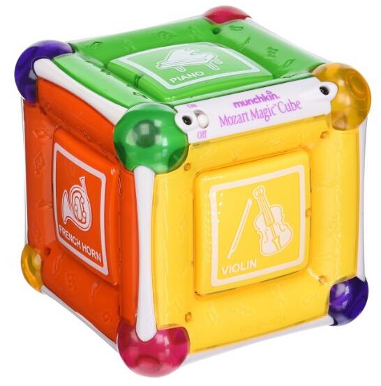 Prime会员专享!Munchkin Mozart Magic Cube 麦肯奇音乐魔方