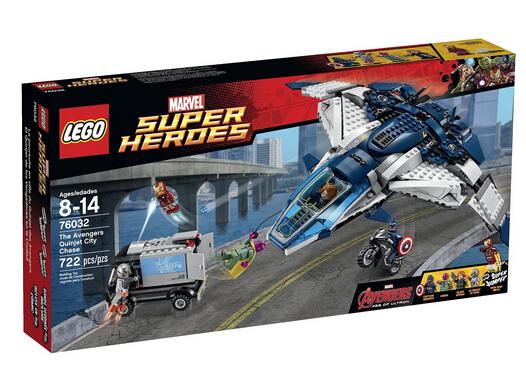 历史新低价!LEGO 76032 乐高超级英雄系列之昆式战机