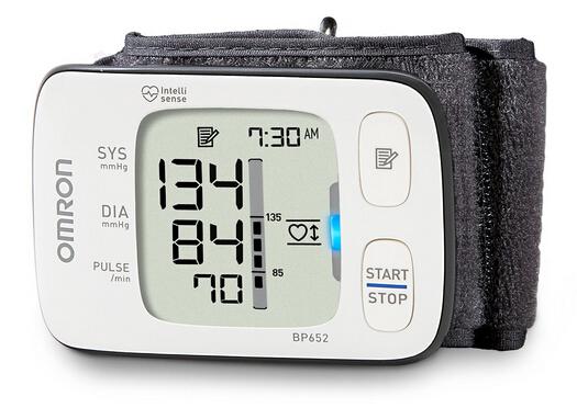 历史最低价!Omron 欧姆龙7系BP652手腕式电子血压计