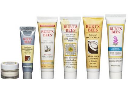 近期好价!Burt's Bees 小蜜蜂 从脸到脚精华护肤6件套