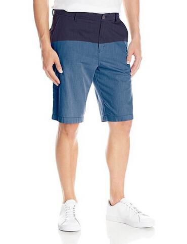 叠加7折券,白菜价!Calvin Klein 拼色款男士休闲短裤
