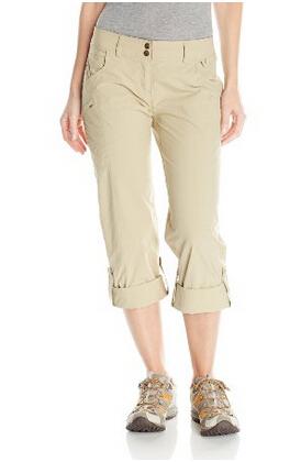 直邮好价!ExOfficio 女士防晒速干可挽休闲裤