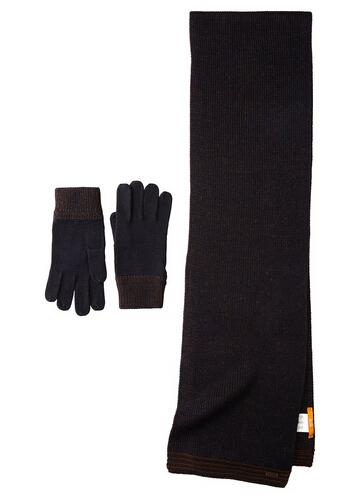 反季囤货,Boss Orange 橙标系列 男士围巾+手套套装