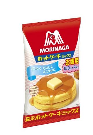 凑单好价!森永宝宝营养早餐热香松饼粉/蛋糕粉600g