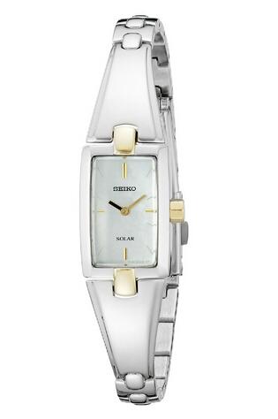 3折不到,新低价!Seiko SUP218 精工时尚不锈钢女士手表