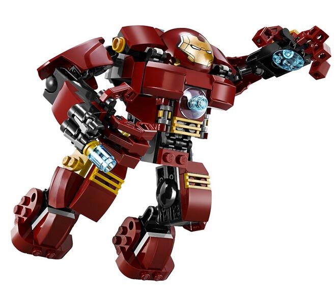 自营补货!LEGO 76031 乐高超级英雄系列反浩克重甲奇兵