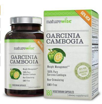 减肥必备,NatureWise 藤黄果植物瘦身胶囊500mg*180粒