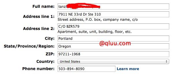 美亚地址如何填写?包括转运地址和直邮地址